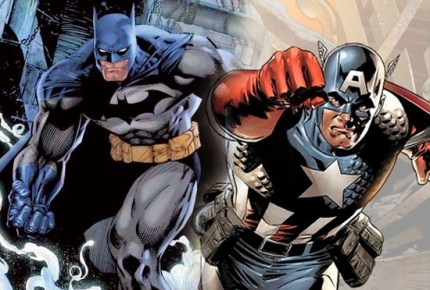 Batman vs Captain America